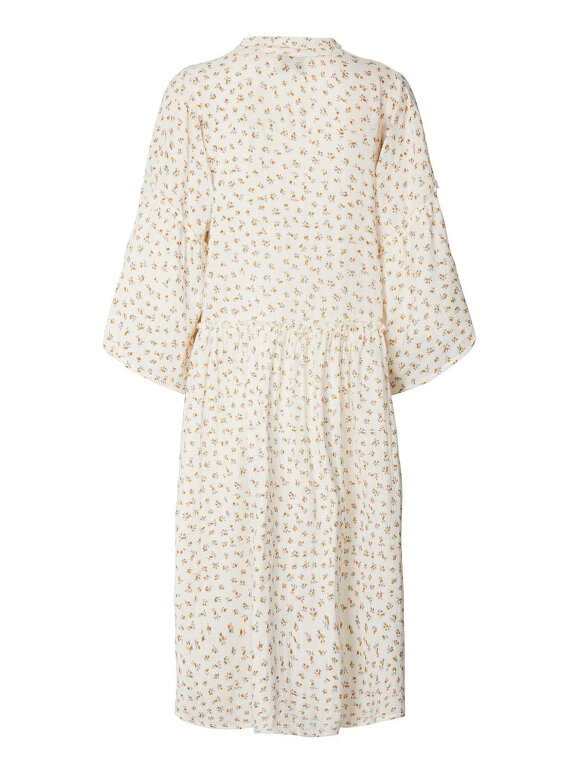 Lollys Laundry - Feline Dress - Creme