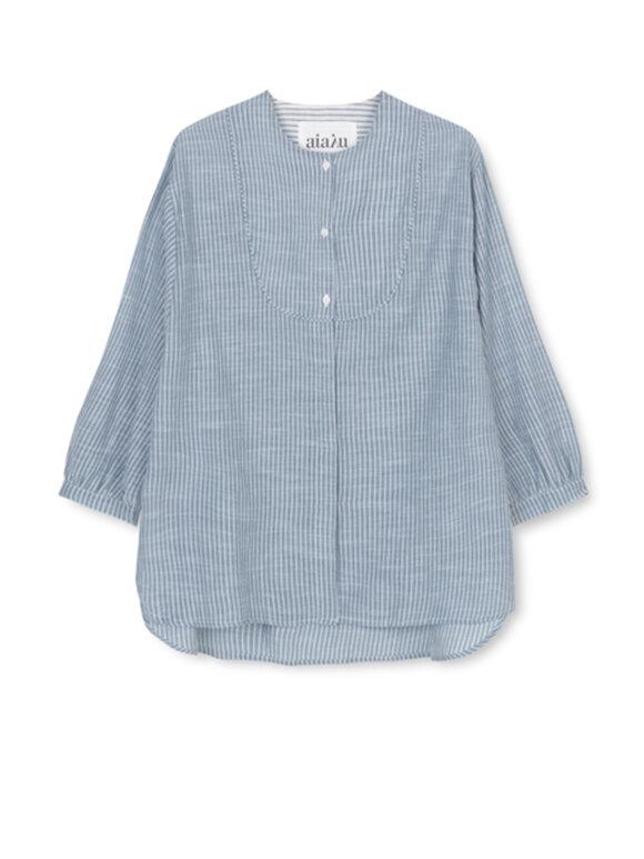 AIAYU - Angela shirt - Indigo