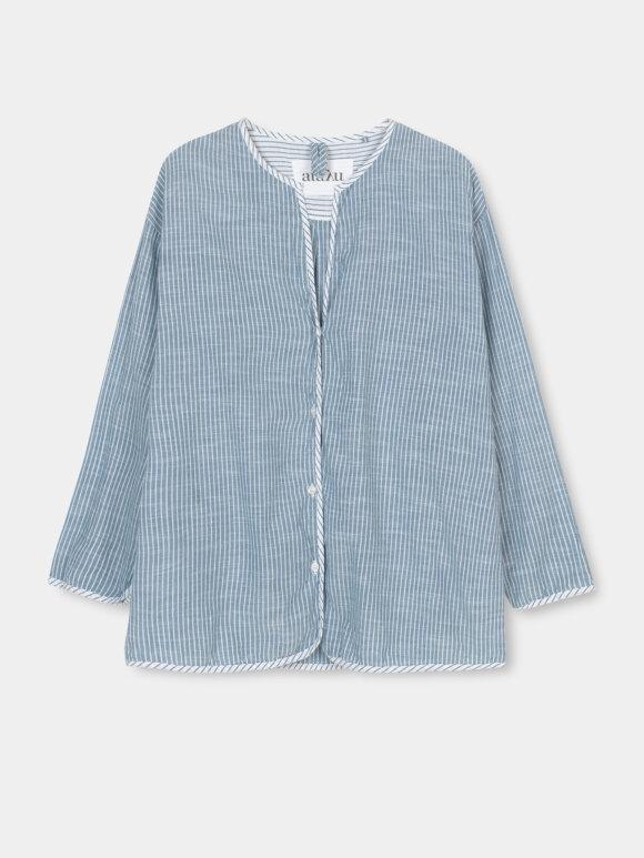 AIAYU - Pyjamas Striped - Indigo