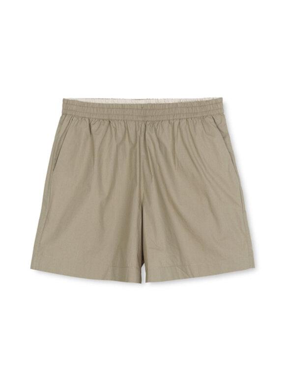 AIAYU - Lulu Poplin shorts, Seagrass