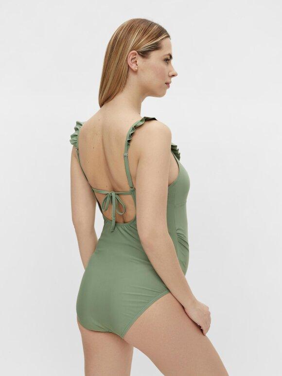 Mamalicious - Daria Ruffle Swimsuit