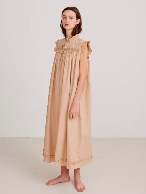 Skall Studio - Ancher Dress, Dark Sand