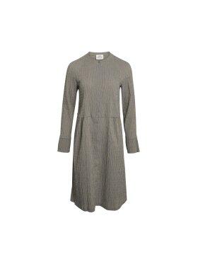 Mads Nørgaard - Crinckle Dupina kjole, multi scarab