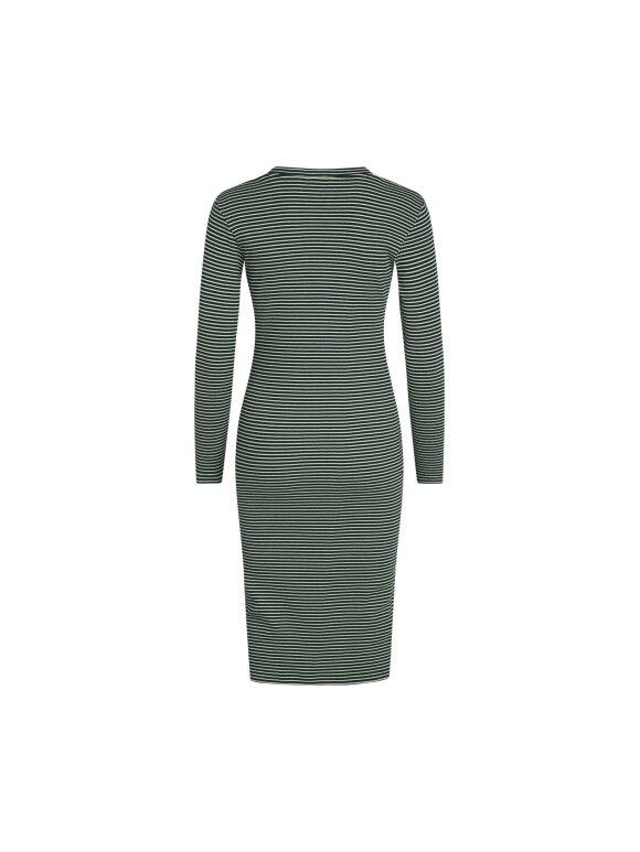 Mads Nørgaard - 2x2 cotton stripe Duba kjole