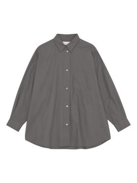 Skall Studio - Edgar shirt - dark grey