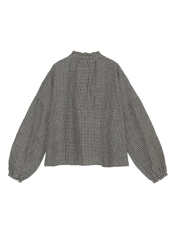 Skall Studio - Suzanne shirt - check