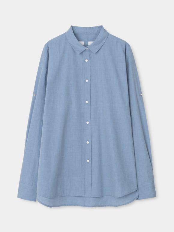 AIAYU - Shirt - deep blue