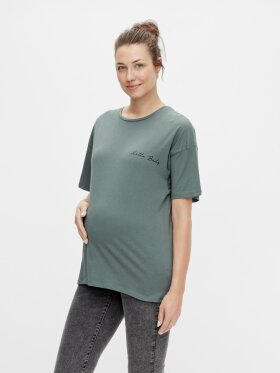 Mamalicious - Marylee jersey top - balsam green