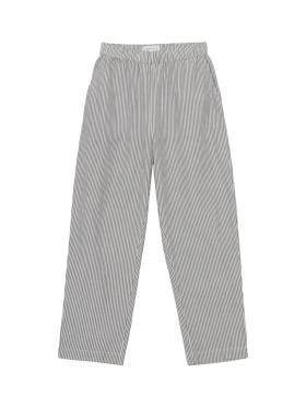 Skall Studio - Anna pants - white/grey stripes