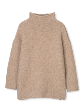 AIAYU - Teddy Sweater - Pure Camel