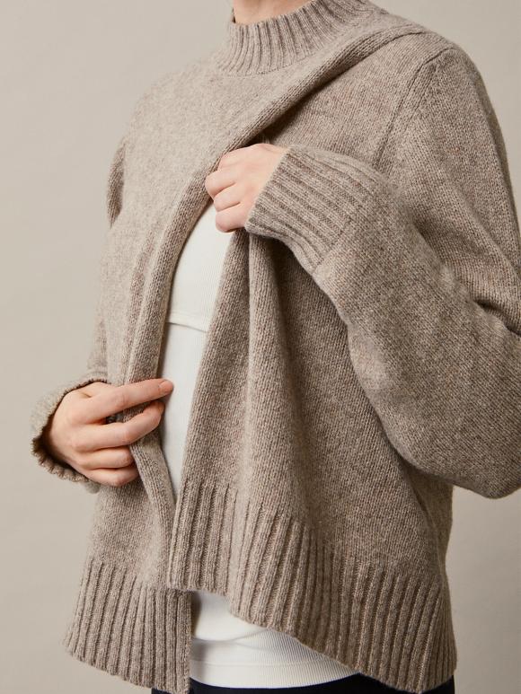 Boob - Sesame wool sweater - sand