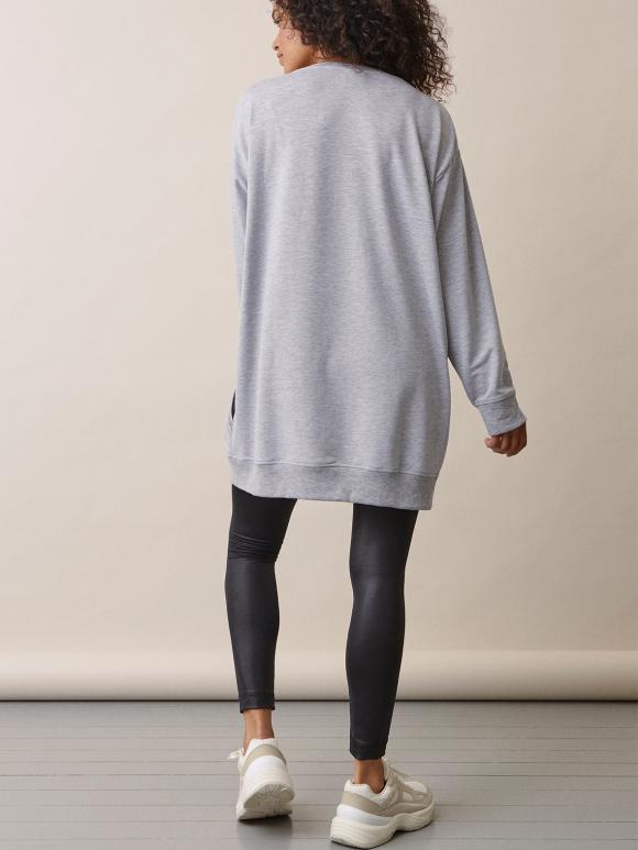 Boob - BFF sweatshirt - grey melange