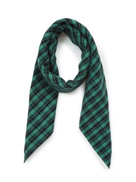 Bonton - Ternet tørklæde - grønt/sort