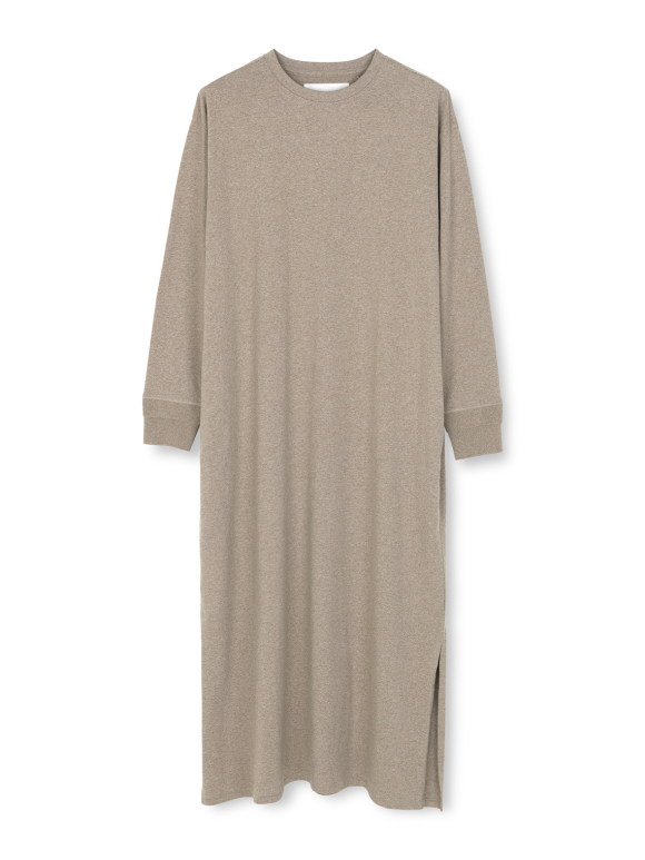 AIAYU - Long sleeve jersey dress - hazel melange
