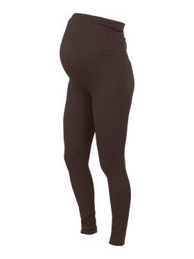 Mamalicious - Ruby seamless leggings - coffee bean
