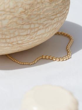Jukserei - Bonbon halskæde - guld