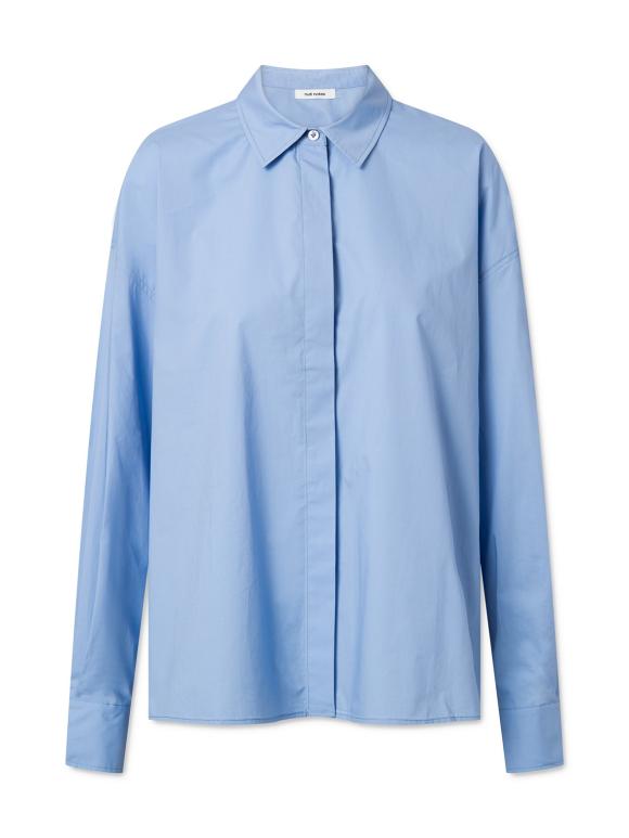Nué Notes - Woody shirt - eventide lyseblå