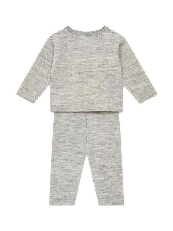 Bonton - Babysæt i uld - lysegrå