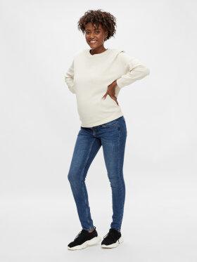 Mamalicious - Kesia slim jeans - medium blue