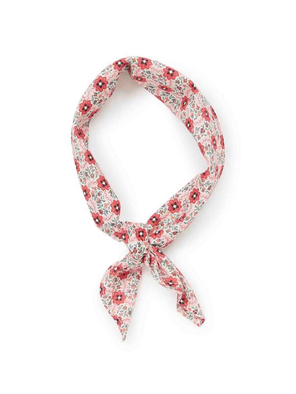 Bonton - Blomstret tørklæde - liberty