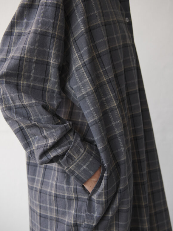 Skall Studio - Edgar shirtdress - check
