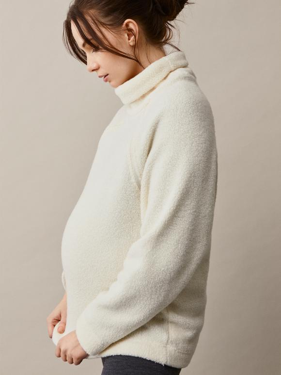 Boob - Wool pile sweater - tofu