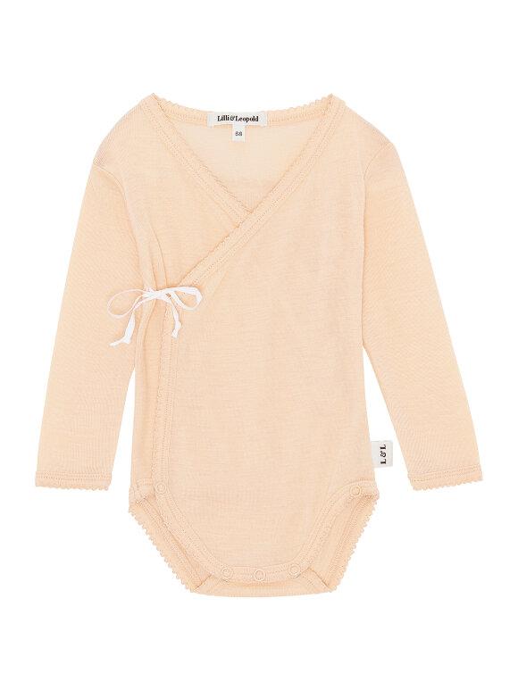 Lilli & Leopold - Baby Kimono Body - Almond