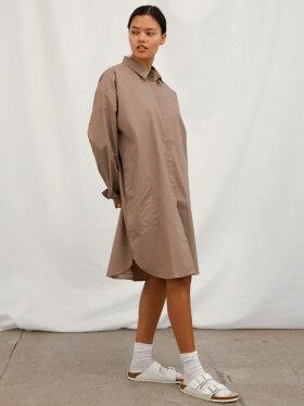AIAYU - Shirtdress - Cocoa