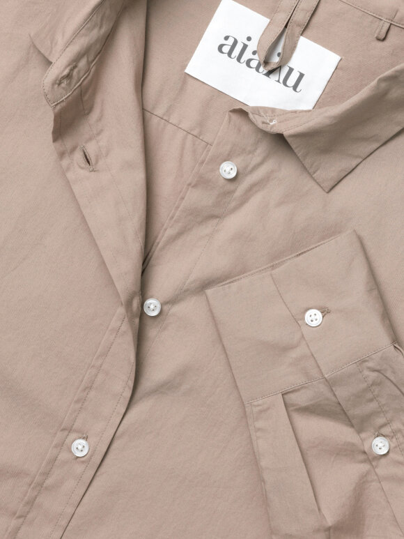 AIAYU - Shirt - Cocoa