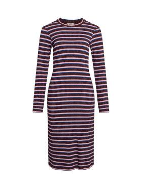 Mads Nørgaard - 5X5 Lurex Stripe Duba Dress