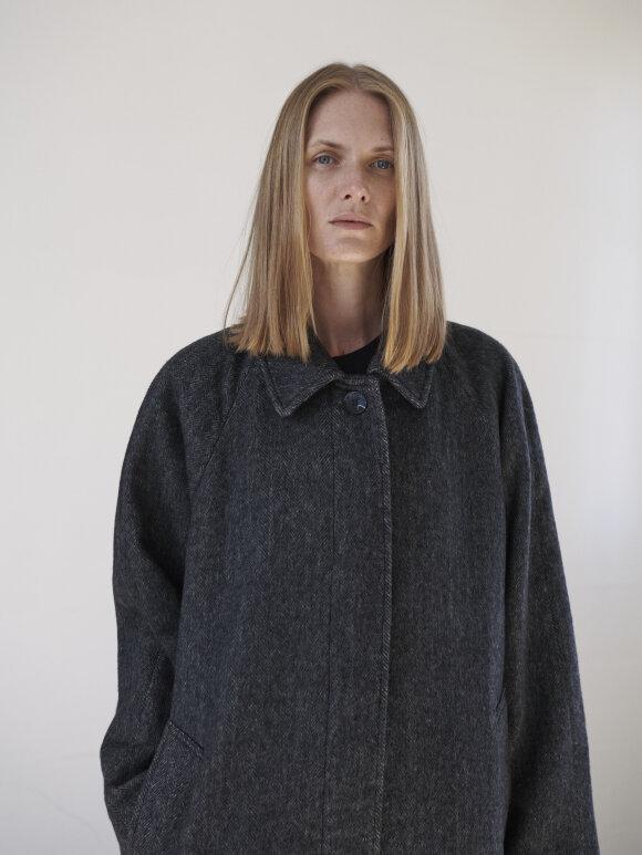 Skall Studio - Mary coat - dark grey