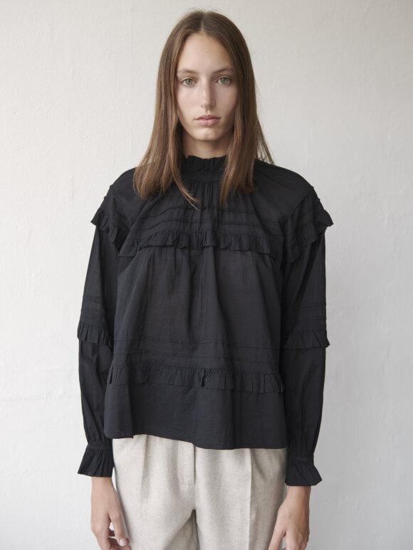 Skall Studio - Aster blouse - black