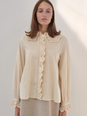 Skall Studio - Niki shirt - cream