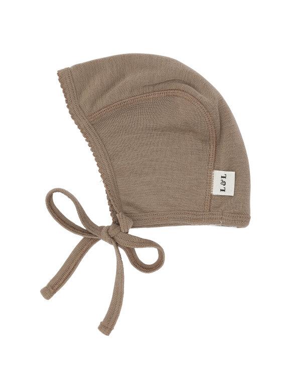 Lilli & Leopold - Baby Bonnet - Nutmeg
