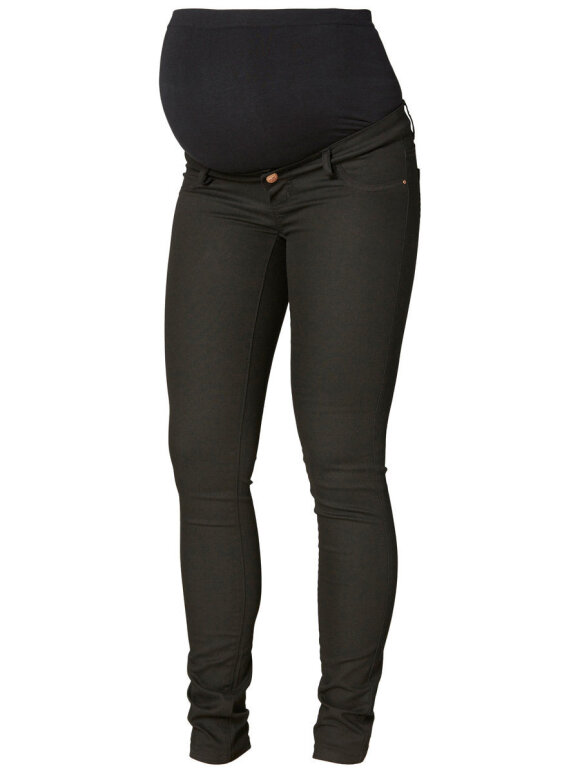 Mamalicious - Gravid jeans, slim sort Juliane
