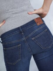 Queen Mum - Gravid jeans, smal 90.3507/360 Harper