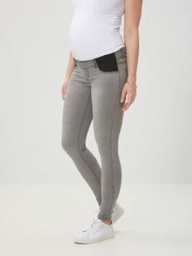 Mamalicious - Gravid jegging, skinny grey ida 4289