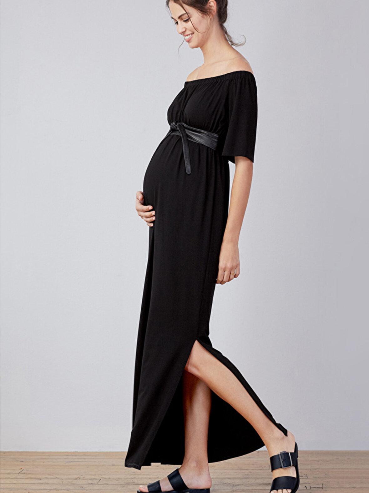 5a8944198e7a Unike Enula9 - Gravid kjoler - Isabella Oliver - Kari Maxi kjole JA-92