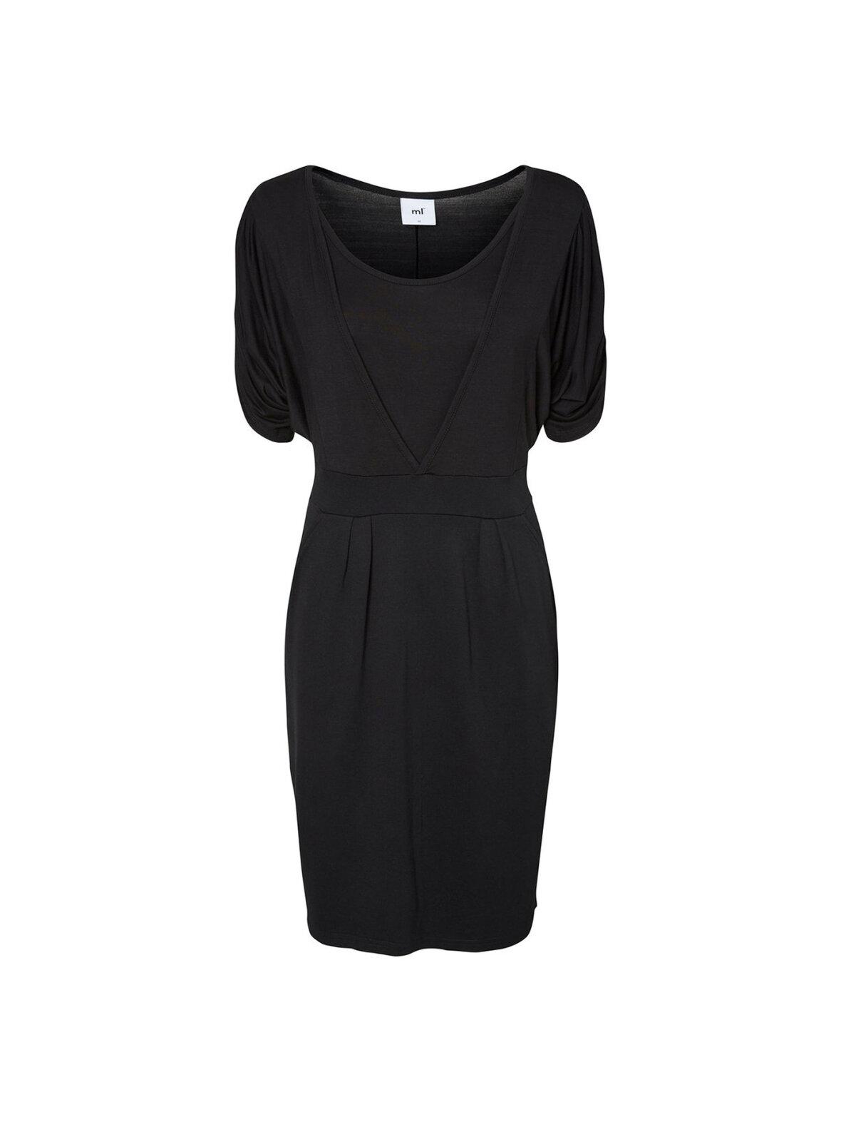 b3c2c4ffa659 Enula9 - Gravid kjoler - Mamalicious - Bruna Tess Jersey kjole sort