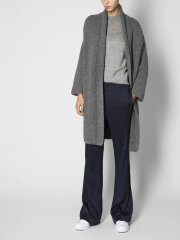 AIAYU - Andrea maxi cardigan grey