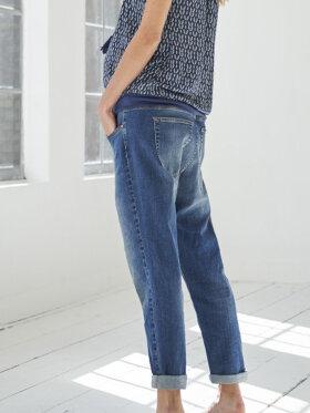 Queen Mum - Gravid jeans, Mae boyfriend cropped 3760/300